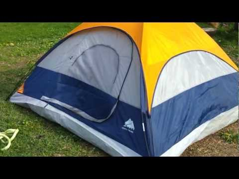 Review: 2 man tent from  Ozark trail