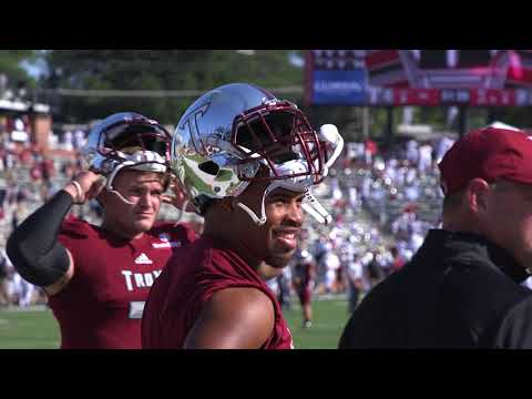 Sight and Sounds from TROY Football Game!