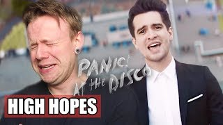 Panic! At The Disco: High Hopes [OFFICIAL VIDEO] REACTION!