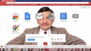 Cara Mengubah tampilan backround google chrome