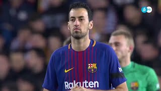 Sergio Busquets vs Valencia (Away) (08/02/2018)