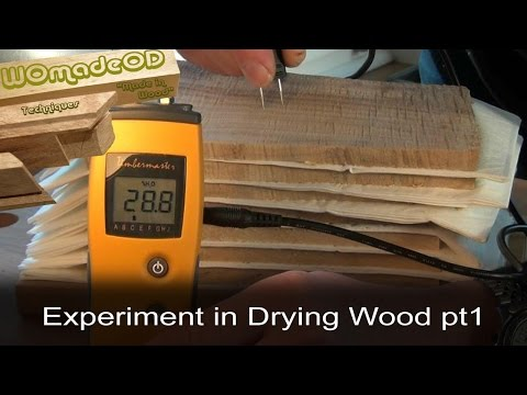 Drying Small Boards Quickly - An Experiment, part 1