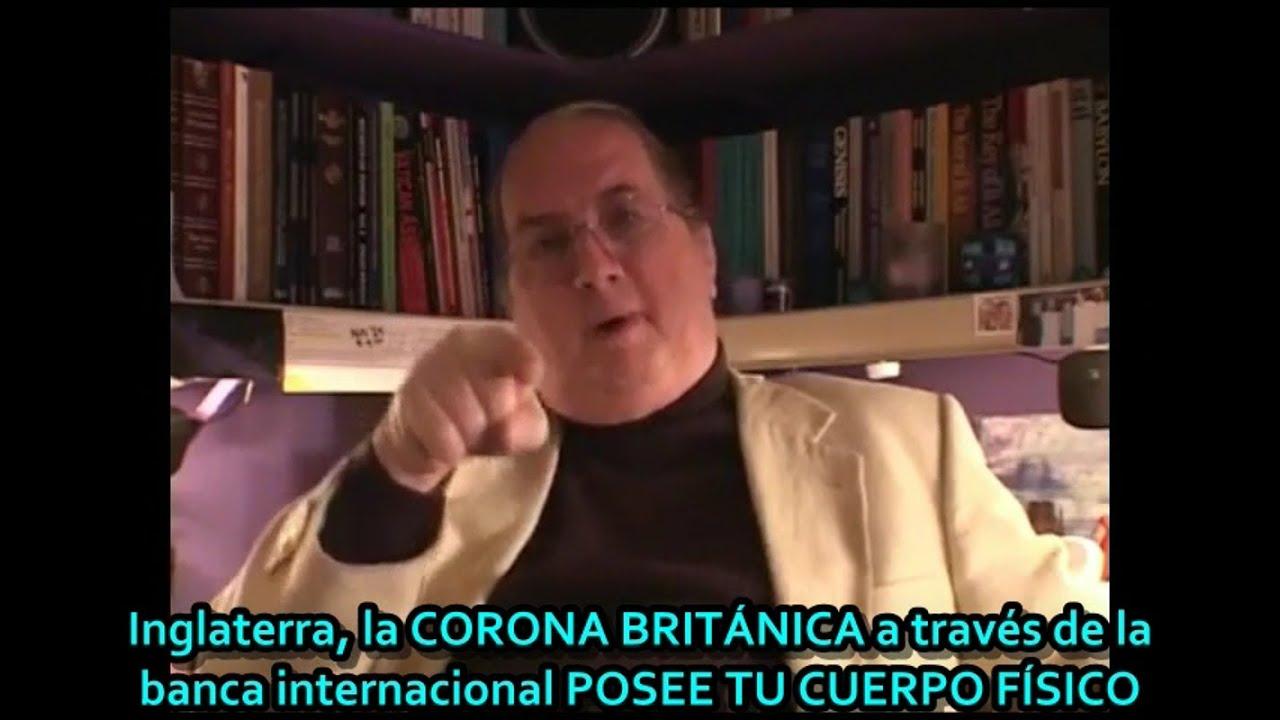 """Jordan Maxwell: """"La Corona Británica a través de la Banca Internacional posee tu cuerpo físico&"""