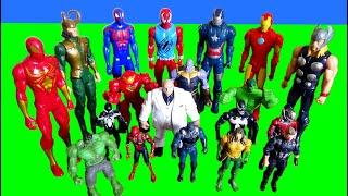marvel avengers toy movie for kids spiderman hulk venom iron man thanos