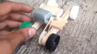 Homemade Toy Car With Motor