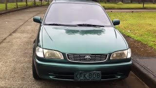 1998 Toyota Corolla GLI Review (Start Up, In Depth Tour, Engine, Exhaust)