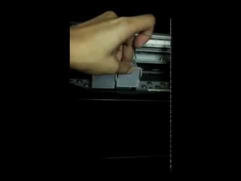 Canon Pixma MP250 - Cartridge Installation