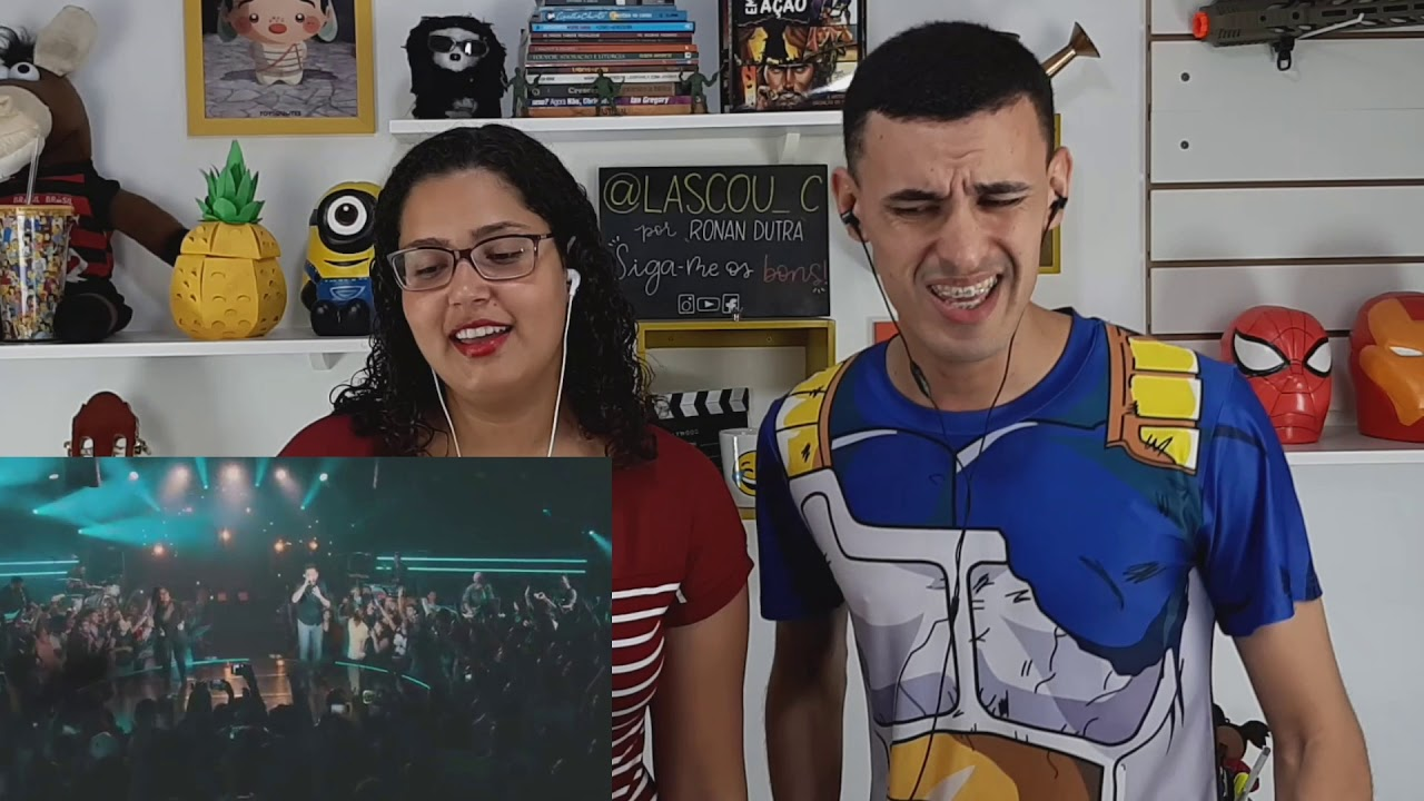 Gabriela Rocha - Nossa Canção (Ao Vivo) ft. Leonardo Gonçalves (REACT) - LASCOU_C