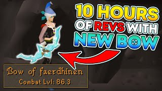 10 hours of Revs Anti Pking with New Bow (Bow of Faerdhinen)