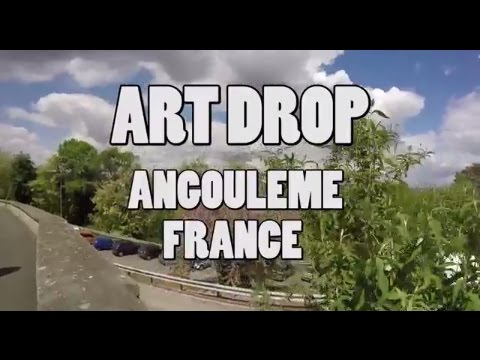 Art Drop Angouleme France - City of Comics/ Cite de la Bande Dessinee