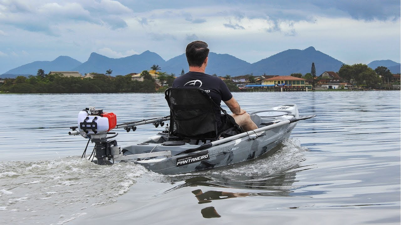 Creative Outboard Motor For Kayak Jet Turbo Pantaneiro 3.0 Hp 2 Stroke Water Sports Air Cooled Outboard Engines & Components