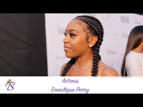 Insecure  DomiNque Perry Shares Biggest Acting Tip