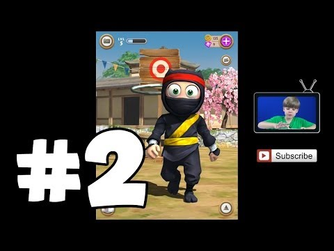 Getting my YELLOW BELT | Clumsy Ninja #2 | Mobile Games