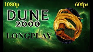 DUNE 2000 (Ordos) Campaign (Hard) Longplay -1080p 60fps - All Cutscenes.