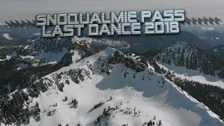 Last Dance of Winter 2018 :Backcountry Snowboarding and Snowmobiling Snoqualmie Pass //