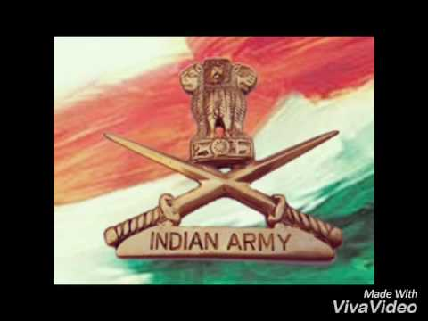 Indian Army. Live for India die for India