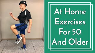Best At HOME Exercises For 50 and Over, Improve Health, Strength & Balance, No Equipment Needed screenshot 2