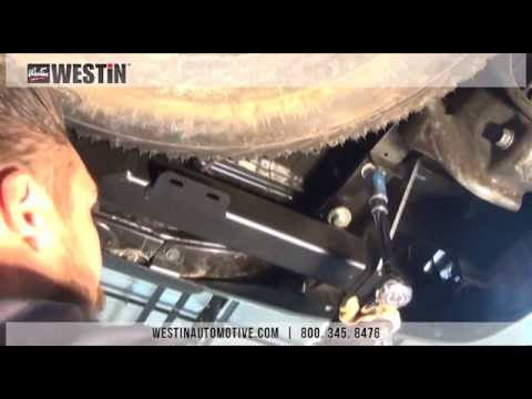 Westin Receiver Hitch install on Toyota Tacoma