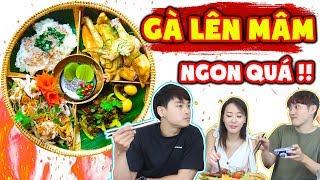 Người Hàn đã lỡ phải lòng món GÀ LÊN MÂM ngon nhức nách giữa lòng Sài Gòn !!!