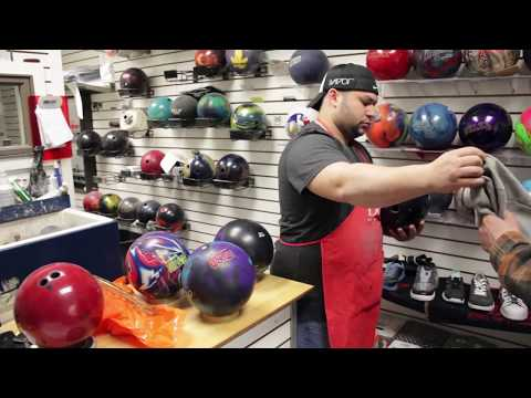 The Bowling Ball Driller (Video Portrait)
