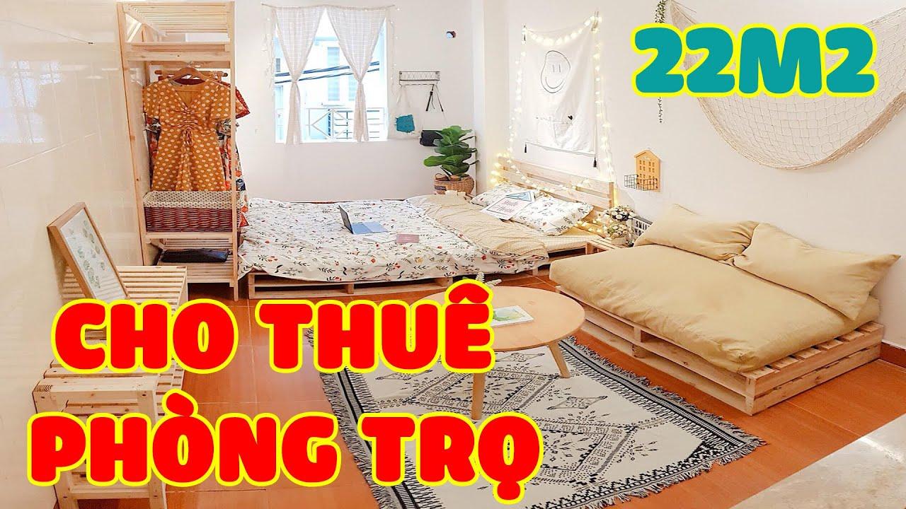 image Cho thuê phòng trọ giá rẻ tại đường Văn Cao rộng 22m2 CÓ ĐIỀU HÒA, NÓNG LẠNH chỉ 1,8 triệu/tháng