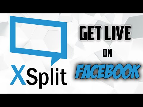 Tutorial: How to get LIVE on Facebook on PC using XSplit Broadcaster [2016]