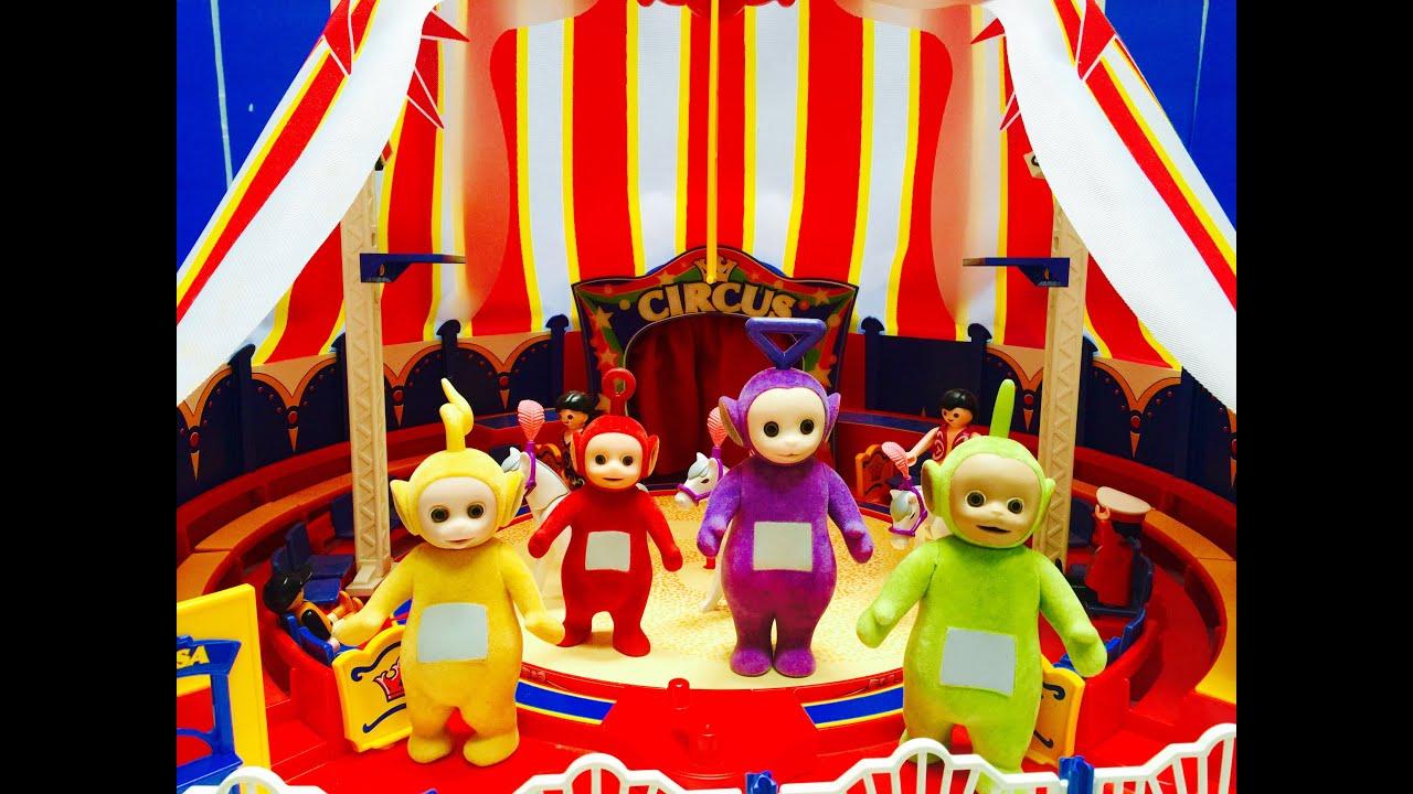 Rare PLAYMOBIL Circus Tent Set TELETUBBIES Toys Go To The ...