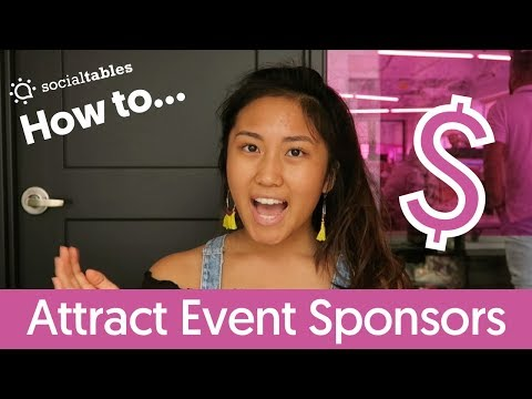 6 Innovative Ways to Attract Sponsors to Your Event