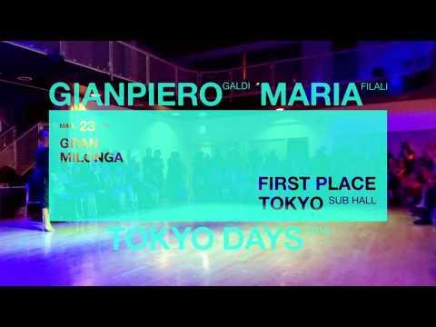 GIANPIERO & MARIA TOKYO DAYS 2018 - Gran Milonga Demo #4