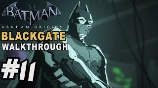 Batman Arkham Blackgate - Walkthrough Part 11 Crypto Key Alpha