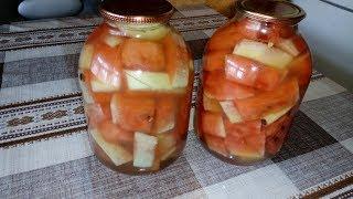 Вкусные Маринованные Арбузы с Аспирином на зиму! Без Стерилизации !!