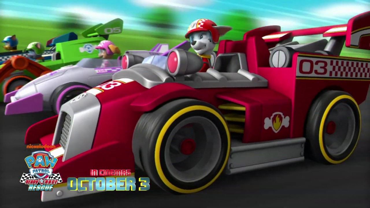 PAW Patrol: Ready Race Rescue | Song Spot | Paramount Pictures Australia