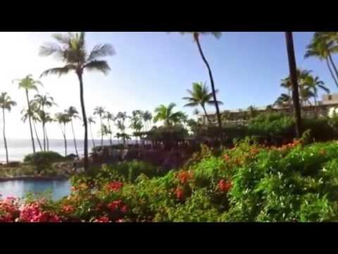 Alika Nako'oka and Na Ko Kane doing a promo for Arbonne at the Hyatt Regency, Maui