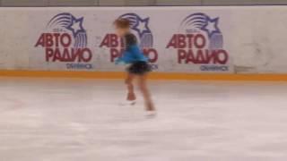 Влада Мяздрикова, Обнинск 19.11.2016, юный фигурист