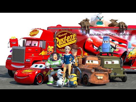 "EXCLUSIVE 3D ANIMATED ""CARS TOONS"" Disney Full Featured Short Film 3 
