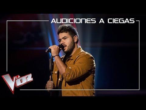 Agustín Sánchez canta 'La quiero a morir' | Audiciones a ciegas | La Voz Antena 3 2019