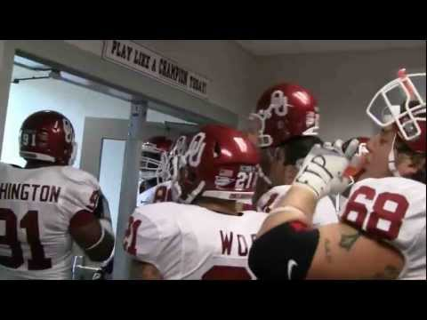 OU vs. Texas Tunnel Experience