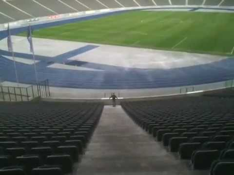 Paul visit tour of olympic stadium history in Berlin