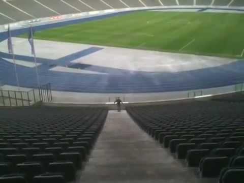 Paul visit tour of olympic stadium history in Berlin