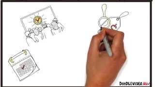 Рекламный холдинг T&P. Заказать рисованное видео