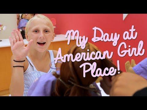 American Girl Store Birthday Celebration! Clara's World