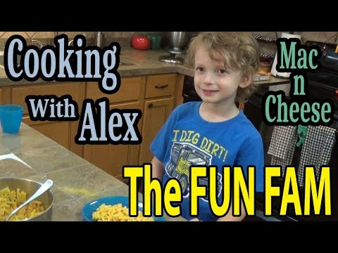 Cooking with Alex - Mac-n-Cheese
