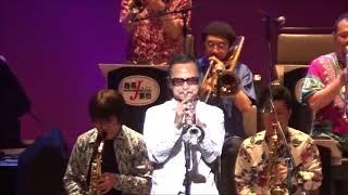 """説明 熱帯JAZZ楽団2019夏の会から佐々木史郎のオリジナル """"Neo Boogalogy"""" Carlos Kanno Nettai Tropical Jazz Big Band 2019 Neo Boogalogy composed by ..."""