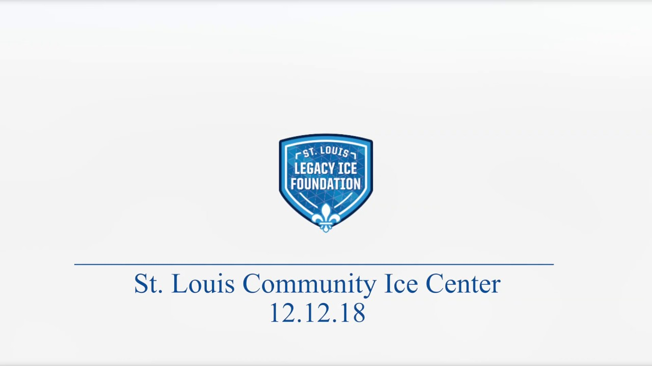 St. Louis Community Ice Center, Maryland Heights 12.12.18 Tilt Progress