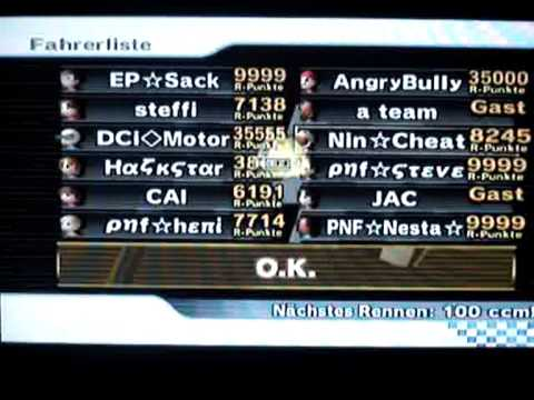 Mario kart wii playing with angry bully