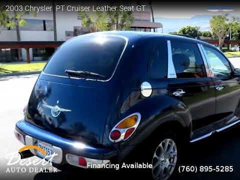 2003 Chrysler  PT Cruiser Leather Seat - Desert Auto Dealer