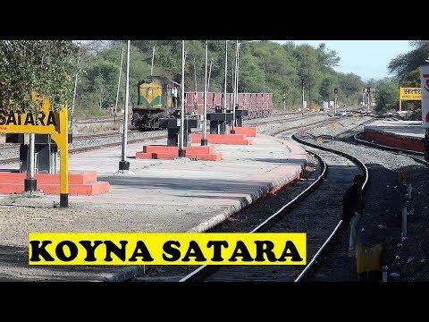 Mumbai Kolhapur Koyna Express VS Freight | Satara