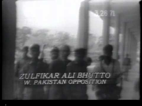 Bangladesh - Civil War breaks out between E. and West Pakistan NBC, Mar 26, 1971 -- MMM Jalal