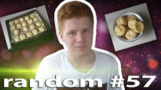 Random #57 - Как сделать СЫРНОЕ ПЕЧЕНЬЕ дома ? \ How to make CHEESE COOKIES at home ?