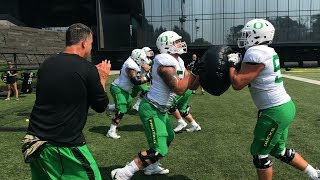 Oregon Ducks football: Sights and sounds from Day 8 of fall camp